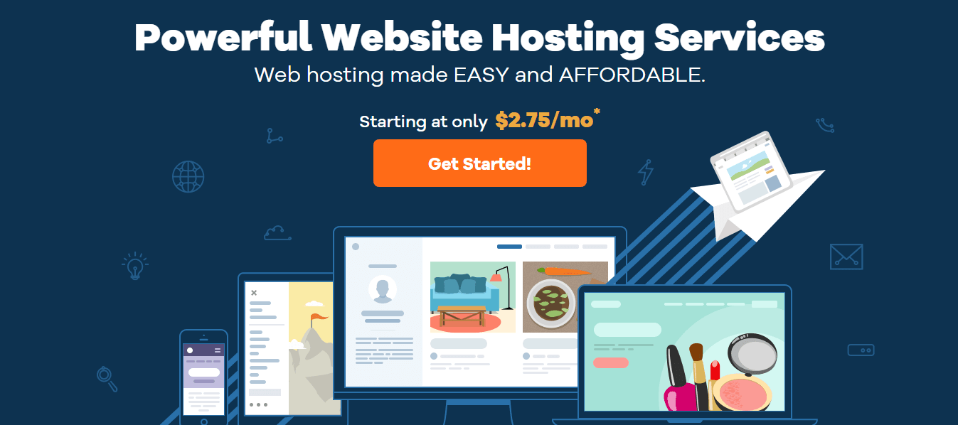 how to start a blog from scratch with Hostgator