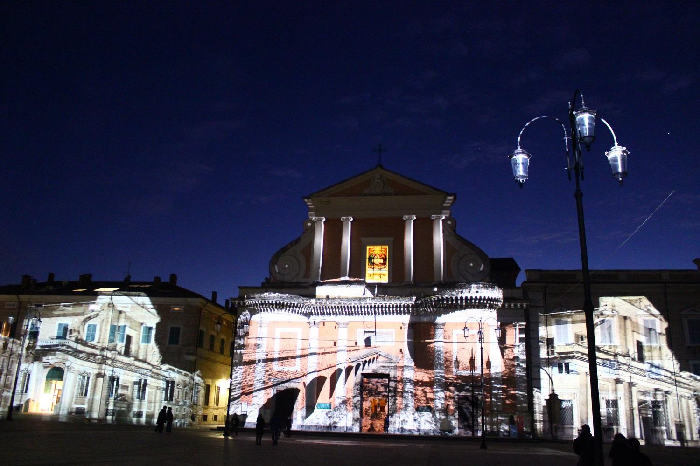 Video mapping en el Ayuntamiento