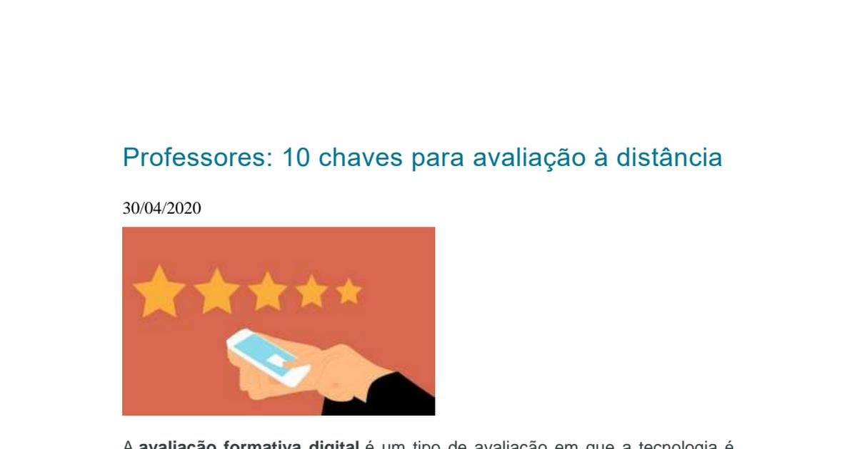 10 chaves para a avaliação à distância.pdf