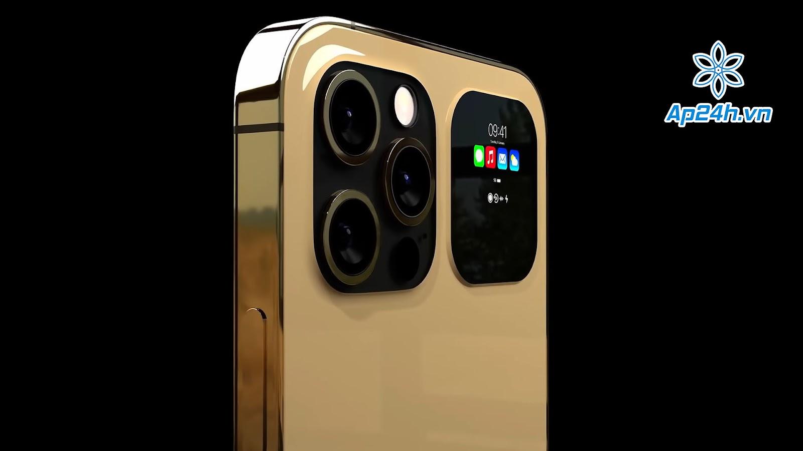 Màn hình phụ trên iPhone 13 Pro