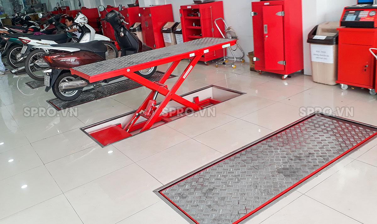 hệ thống bàn nâng âm, bàn nâng sửa xe máy âm nền cho head honda