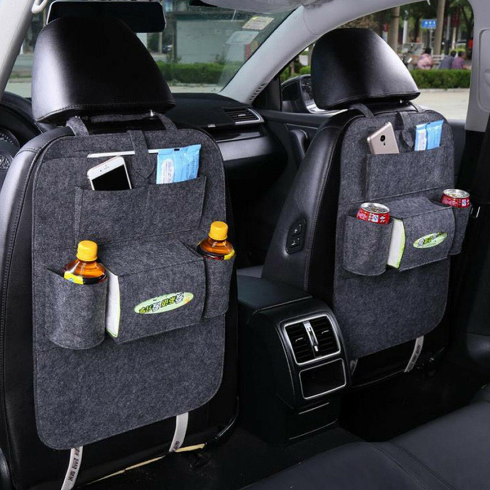Back Seat Universal Organizer To Put Useful Car Accessories