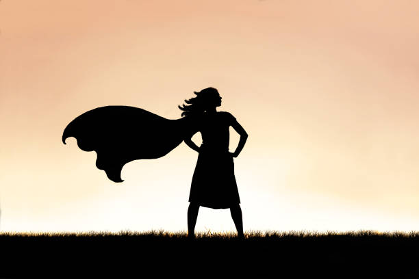 super woman pose - being organized