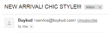 buykud email newsletter overusing punctuation exclamation marks