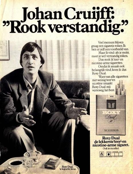 Afbeelding 1 - Johan Cruyff, a sports marketing tribute - Roxy