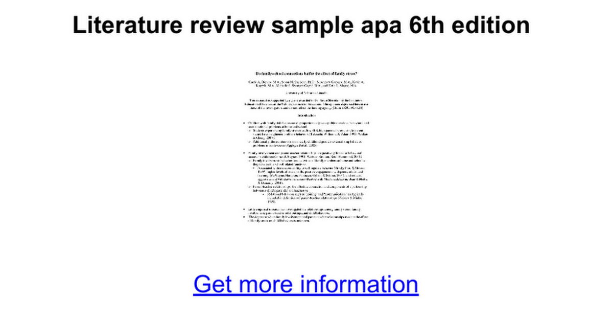 sample of a apa research paper Their effects on relationship research paper should this research was supported in part by a grant from the sample grant right of apa style guidelines.