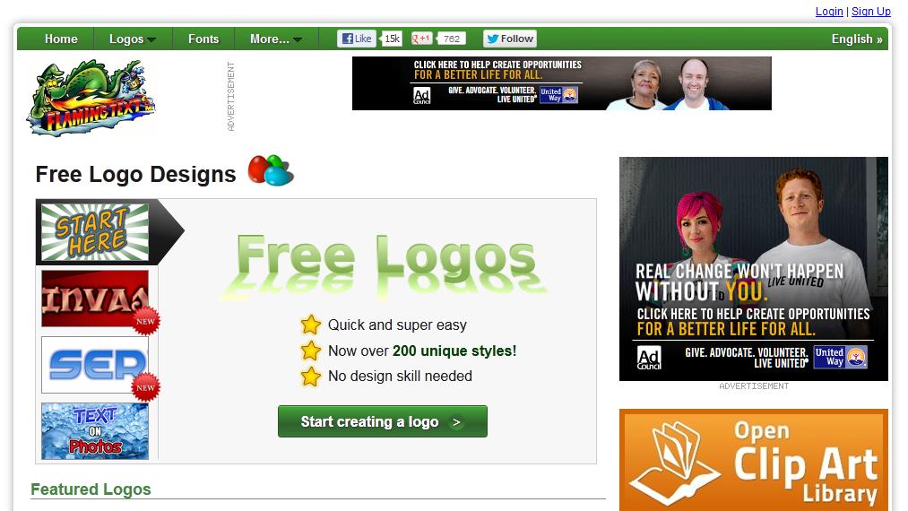 12 công cụ thiết kế logo website miễn phí tốt nhất