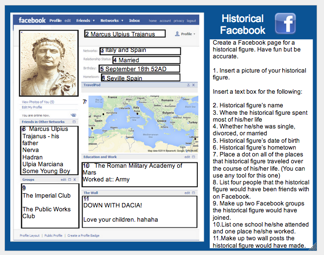 historical facebook page template - integrated tech historical facebook project