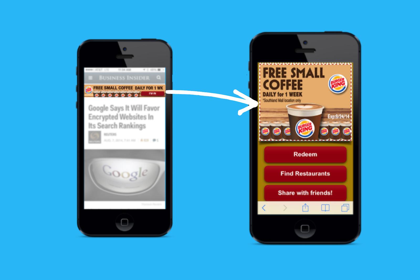 Mobile App Banner Ads