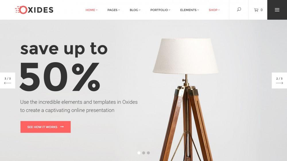 Oxides - Woocommerce furniture themes