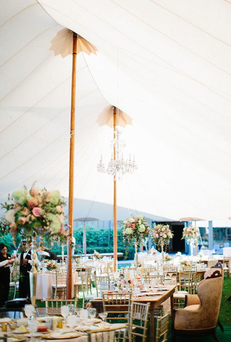 Beautiful Wedding Tent Ideas:Shabby Chic Tent
