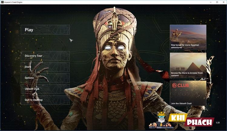 Chiến Assassin's Creed Origins cùng Khí Phách nào anh em!!