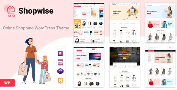 10. Shopwise - Fashion Store WooCommerce Theme