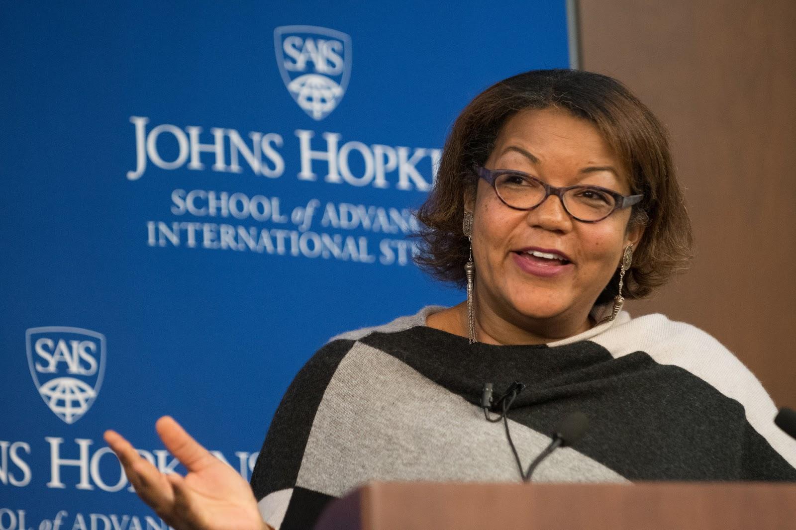 New York Times reporter Helene Cooper