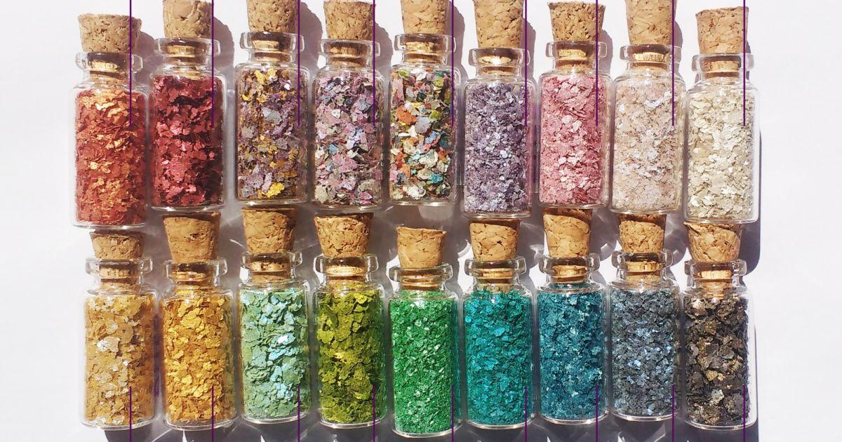 Glitter sustentável: Pura bioglitter