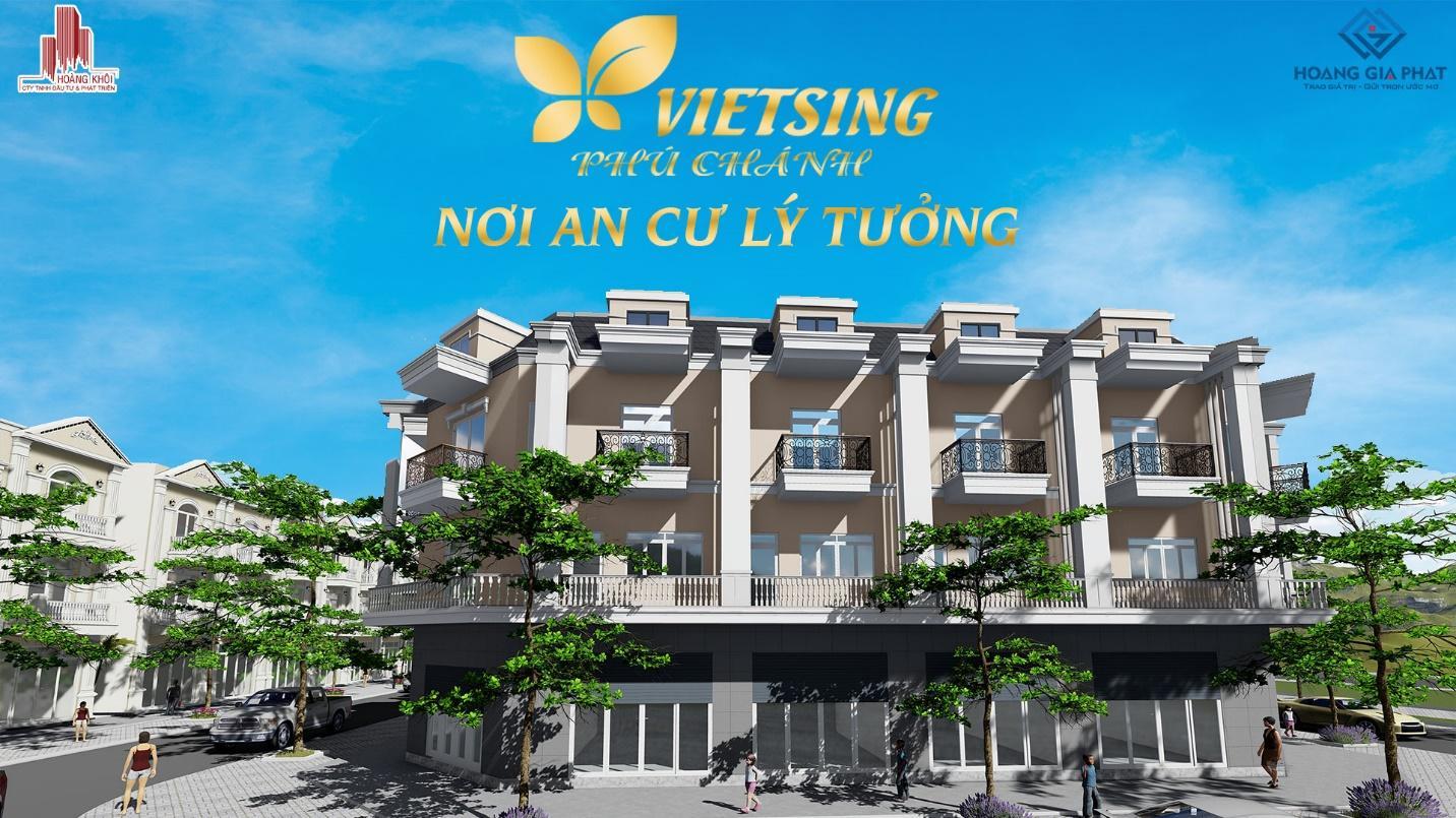 Tại sao nên mua nhà tại dự án Vietsing phú chánh?