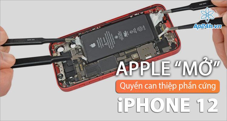 Không còn cần thay mặt kính lưng sau iPhone 12 nếu chỉ lỗi cảm biến Face ID