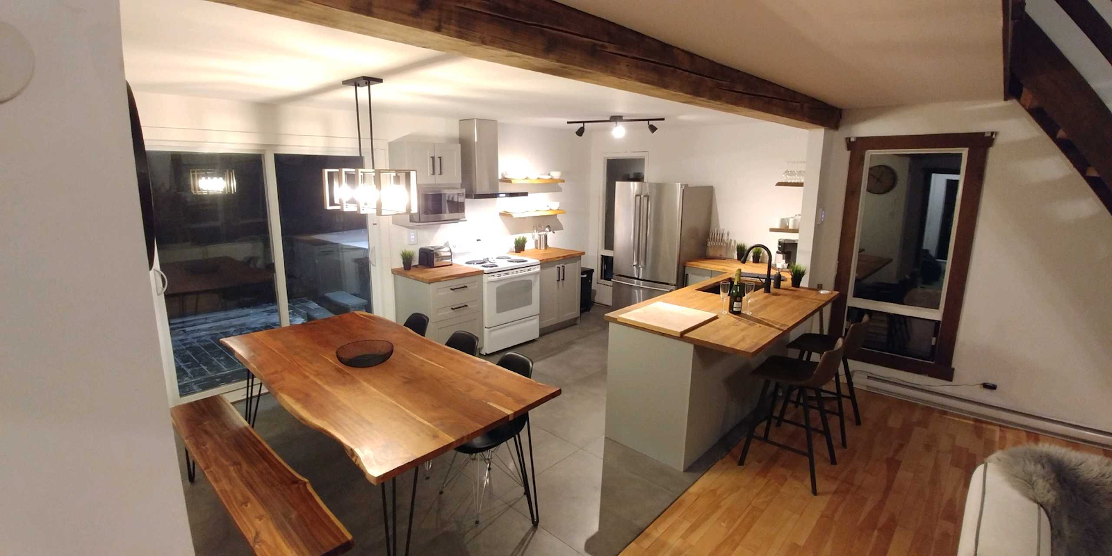 Cottages for rent for 9 people in Quebec #15