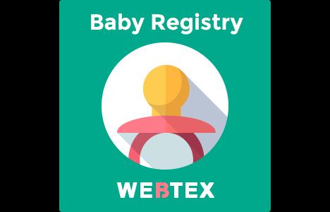 baby gift registry magento