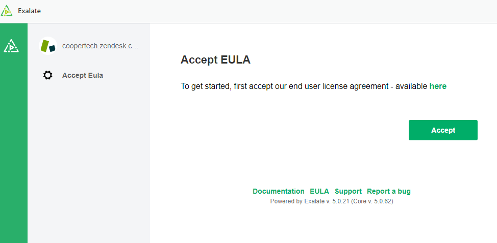 Exalate license agreement