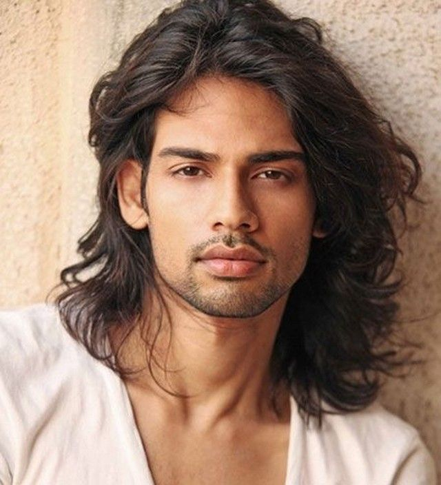 hairstyle for silky hair male indian