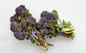 Organic Purple Sprouting Broccoli Trio - From Our Farmers - SF Bay ...