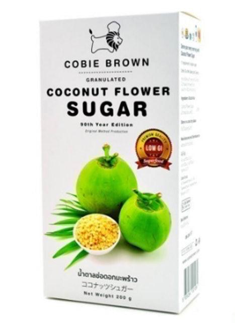 3. น้ำตาลช่อดอกมะพร้าว COBIE BROWN