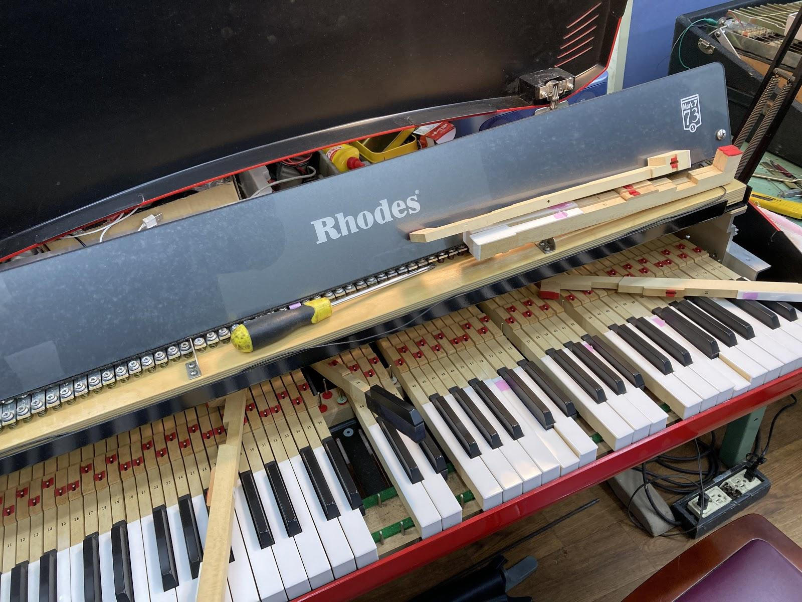 ローズピアノ 中古 修理