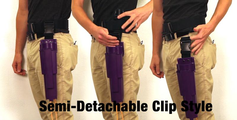 Semi-Detachable Clip Style