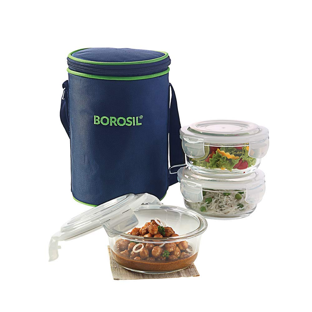 Borosil Glass Lunch Box