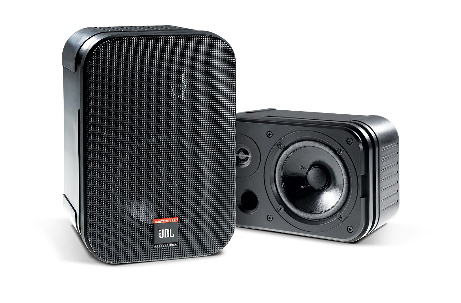 JBL Professional C1PRO High Performance 2-Way Loudspeaker - Best For Performing Heavy Bass