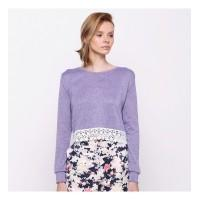 harga Luna Habit Crop Lace Sweater L Alfacart