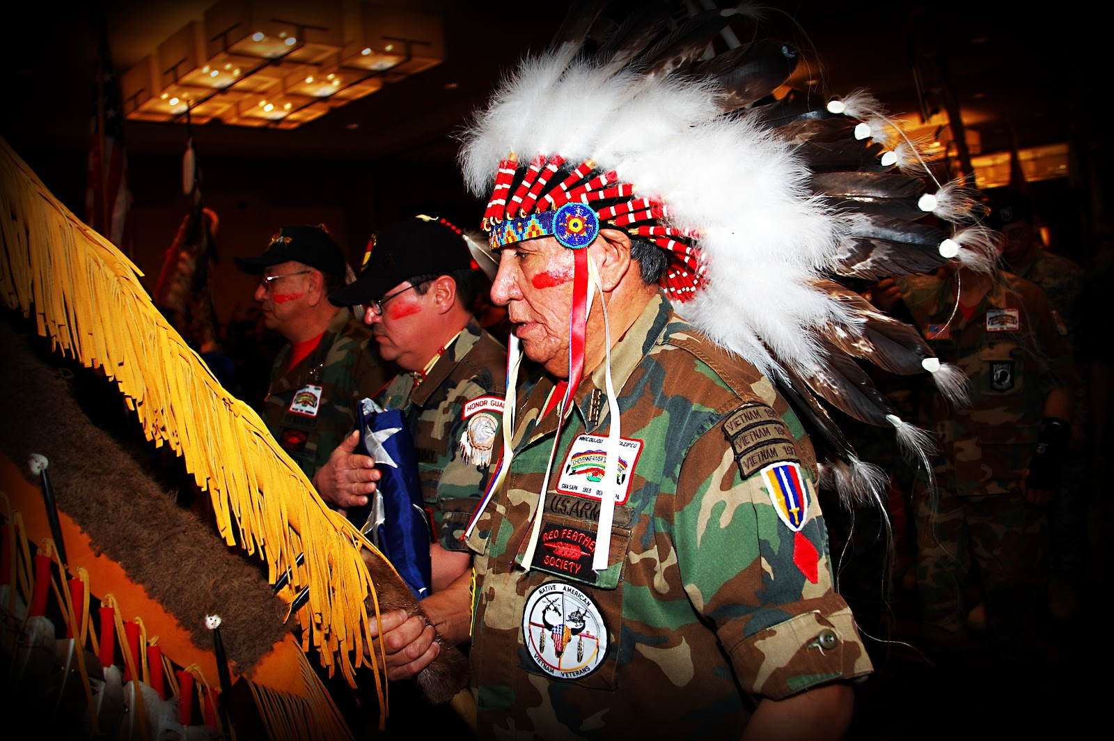 Native Veterans in Washington DC - Photo: Vincent Schilling