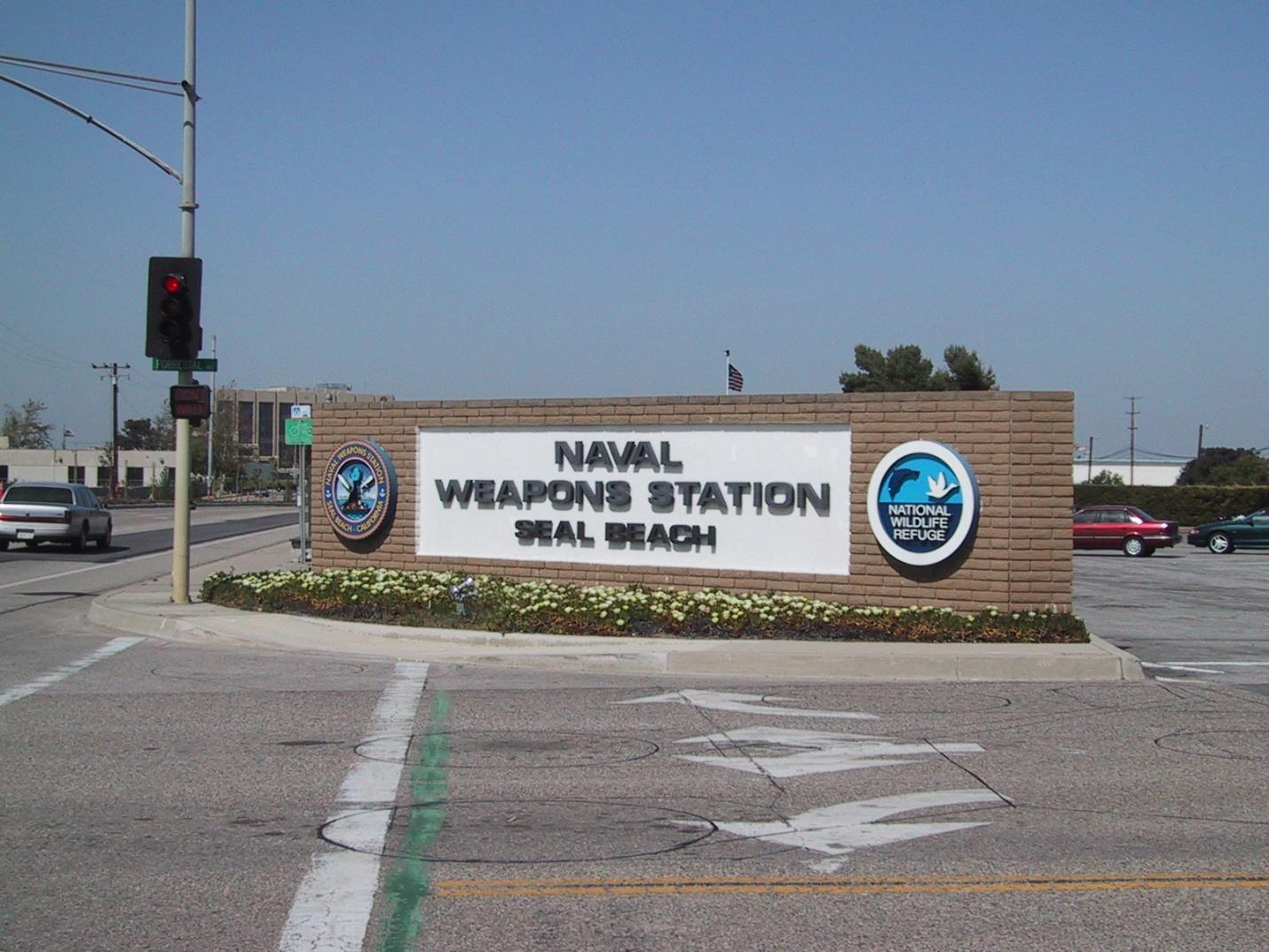 NWS Seal Beach Navy Base In Seal Beach CA Complete Info - Map of us army bases in virginia