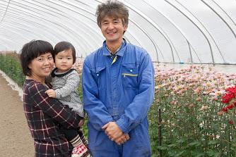 竹林義晃さん、恵さん、愛依ちゃん