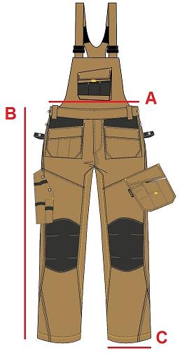 Размери на полугащеризони