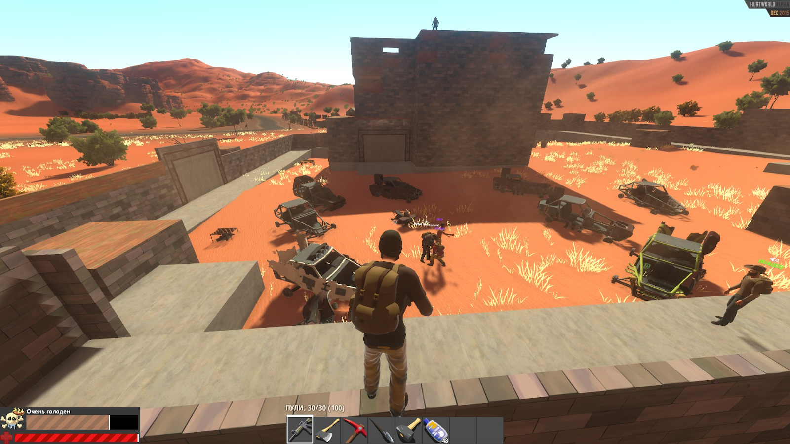 hurtworld gameplay survival multiplayer pc
