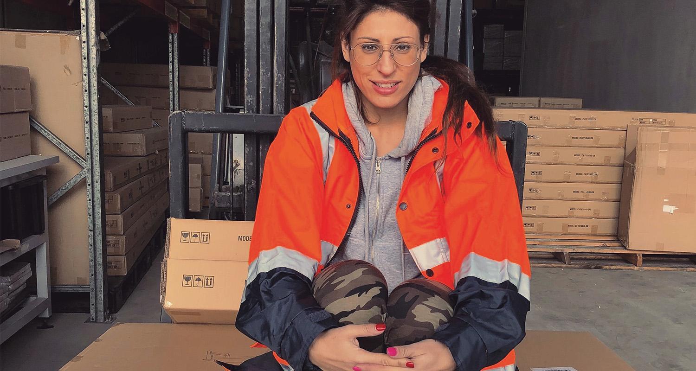 headshot of Niki Skontos, Founder & Co-Director, eCom Logistics