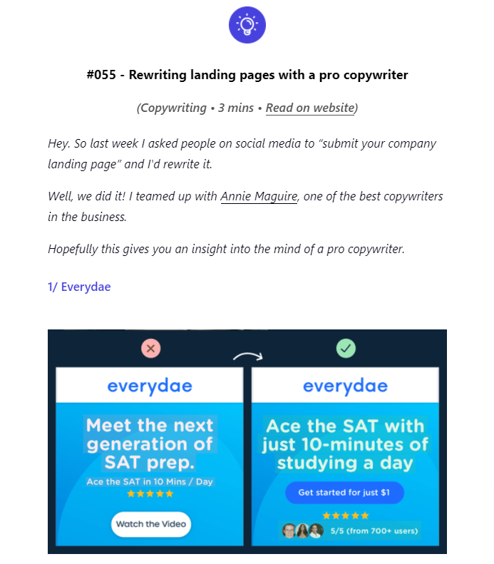 Harry Dry's Marketing Newsletters