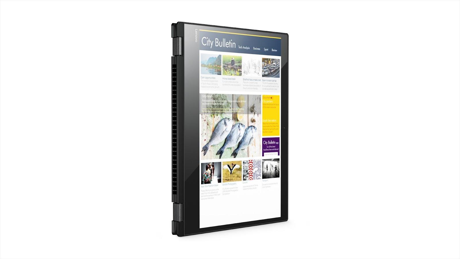 Фото4  Ноутбук Lenovo Yoga 520 (81C800DFRA) Onyx Black