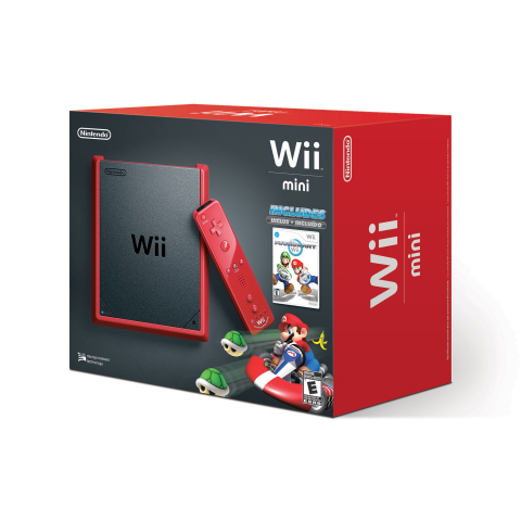 Wii mini Heading to US, Bundled with Mario Kart Wii for $99.99