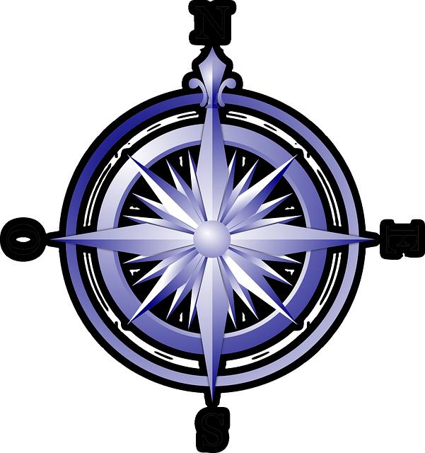 Compass, Wind Rose, Compass