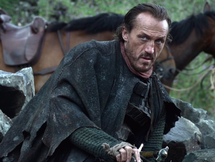 While narrating the battle between the Unsullied and Casterly Rock, Tyrion repeated a crude line from Bronn spoken on the first season.
