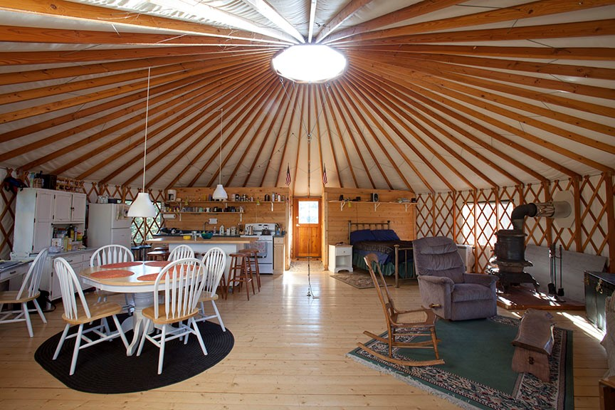 Pacific yurt kits