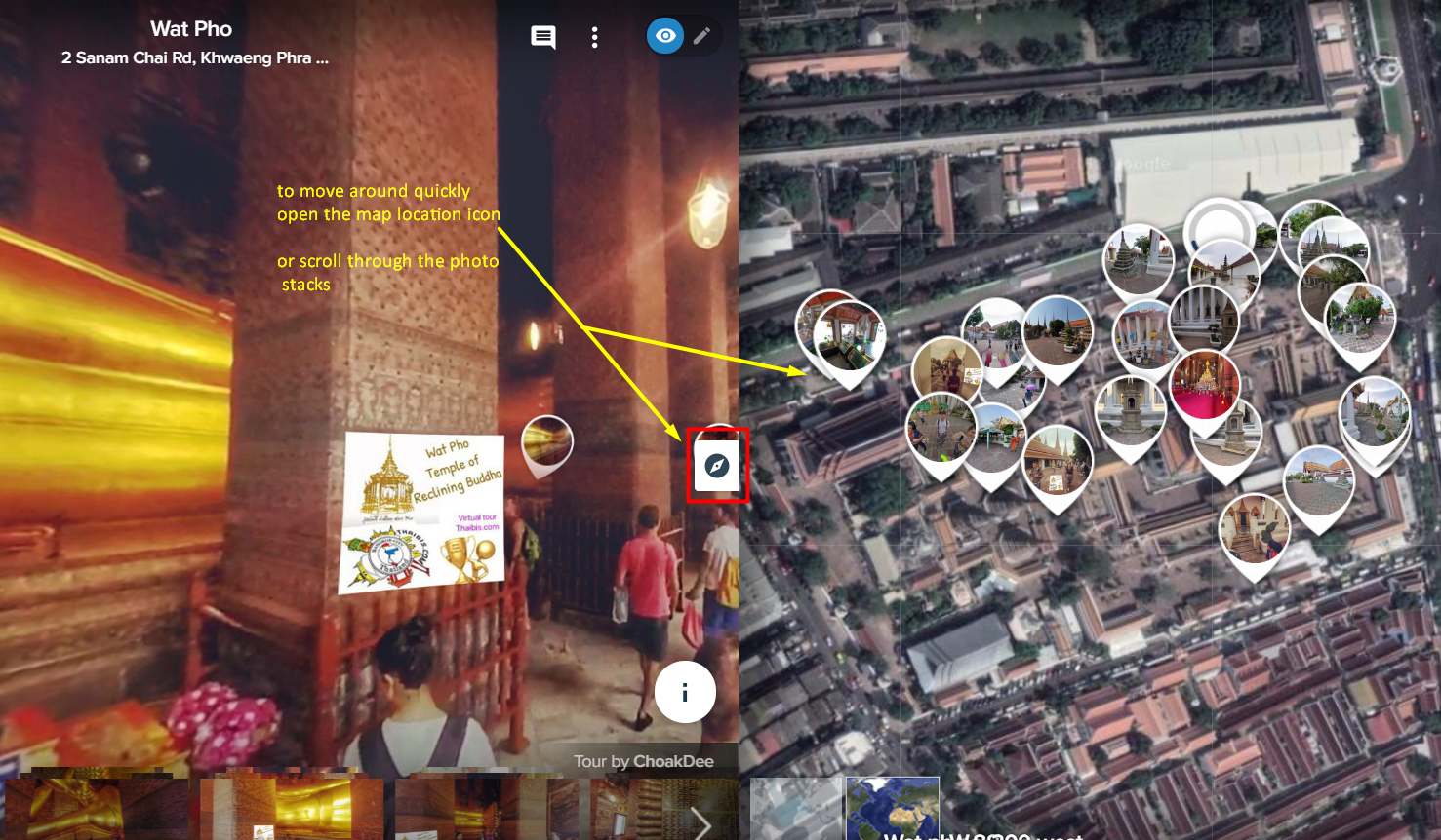 Virtual tour Wat Pho - Bangkok Tourism hub