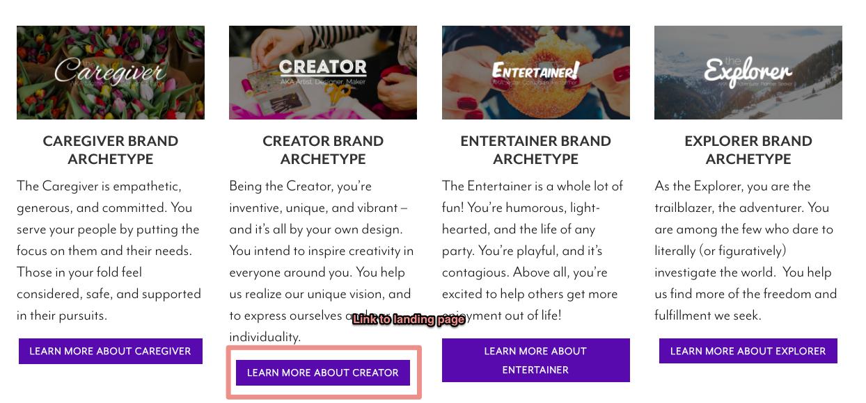 brand archetype descriptions