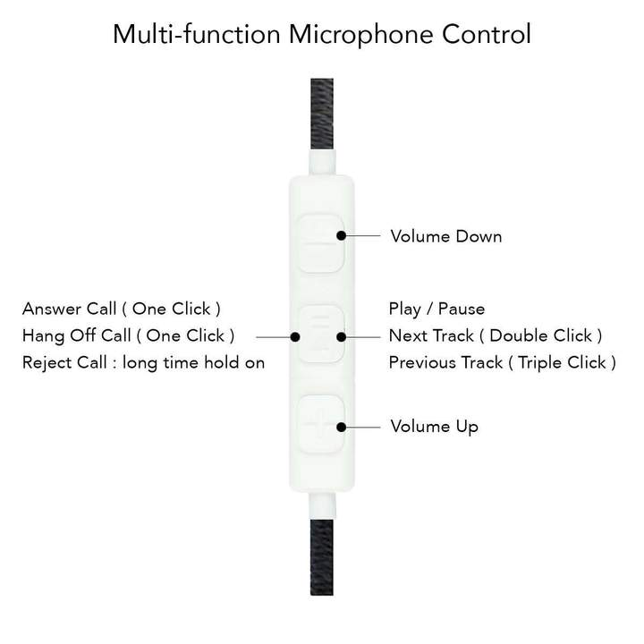 Crossloop V1 Designer Earphone - Good For Travelers