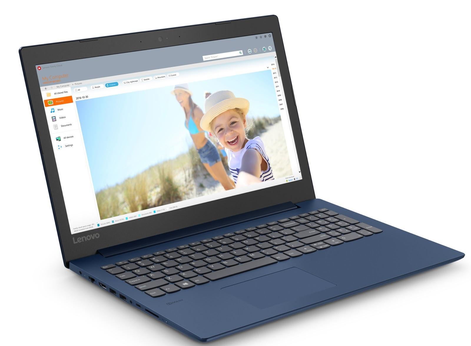 Фото 2. Ноутбук Lenovo ideapad 330-15 Midnight Blue (81DE01WBRA)