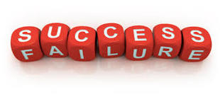 image of cubes spelling success