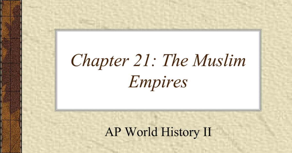 AP World History time line | Sutori